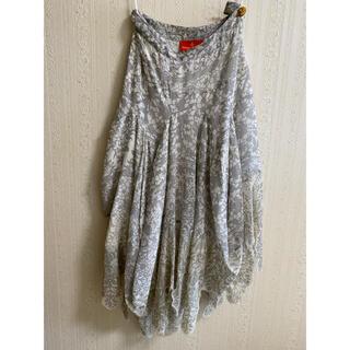 ヴィヴィアンウエストウッド(Vivienne Westwood)のVivienne Westwood シルクスカート(ロングスカート)
