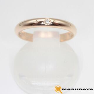 カルティエ(Cartier)のカルティエ1895ウェディングバンドリングK18PG/1PD【美品】(リング(指輪))