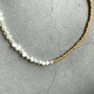 トゥデイフル(TODAYFUL)のhandmade necklace 054(ネックレス)