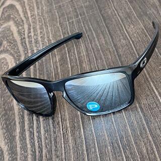 オークリー(Oakley)のスリバー 偏光 ブラック ミラー オークリー サングラス ドライブ ゴルフ 釣り(ウエア)
