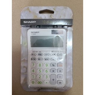 SHARP - シャープ 電卓 10桁 税計算 新品未開封