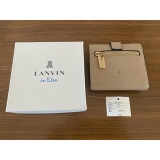 ランバンオンブルー(LANVIN en Bleu)のランバンオンブルー LANVIN en Bleu 二つ折り財布(財布)