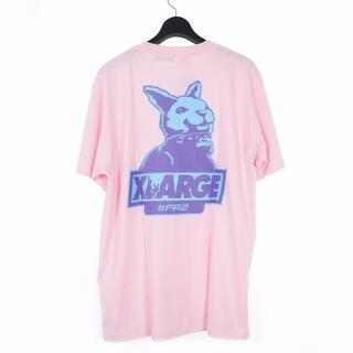 XLARGE - XLARGE FR2  Tシャツ ピンク 佐藤ノア着用XL