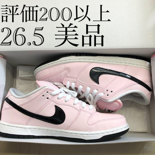 ナイキ(NIKE)のnike dunk low elite sb pink box(スニーカー)