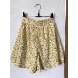 エムピーエス(MPS)のMPS 花柄キュロットスカート 140(スカート)