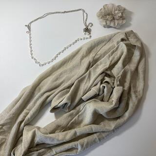 パーティー用 羽織物とコサージュセット(その他)
