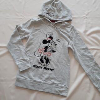 ディズニー(Disney)のミニー パーカー 薄手トレーナー フード ディズニー(パーカー)