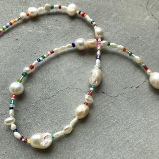 トゥデイフル(TODAYFUL)のhandmade necklace 057(ネックレス)