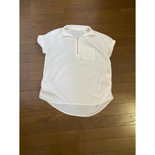 ヴァンスエクスチェンジ(VENCE EXCHANGE)の白シャツ(シャツ/ブラウス(長袖/七分))