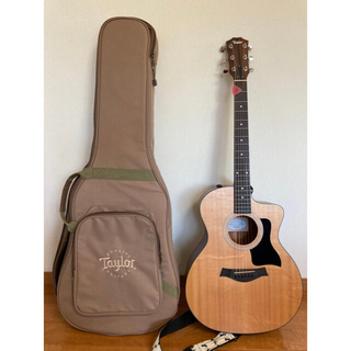 Taylor Model No. 114ce エレアコ ギター本体 ギターケース(アコースティックギター)