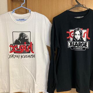 XLARGE -  【2枚set】x-large/ x-girl コラボ Tシャツ【半袖/長袖】