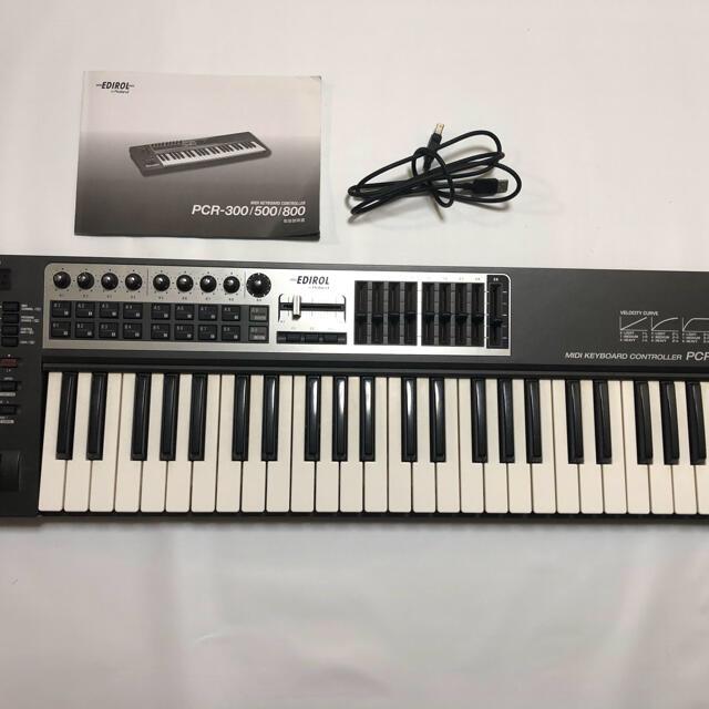 Roland(ローランド)の送料込み pcr-500 midiキーボード 楽器のDTM/DAW(MIDIコントローラー)の商品写真