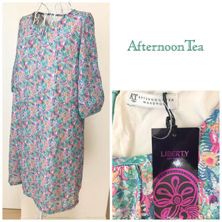 AfternoonTea - 新品タグ付 AFTERNOON TEA×LIBERTY ワンピース