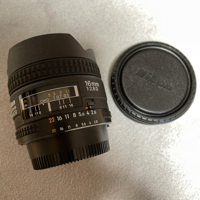 Nikon(ニコン)のNikon AF Fisheye 16mmf2.8 スマホ/家電/カメラのカメラ(レンズ(単焦点))の商品写真