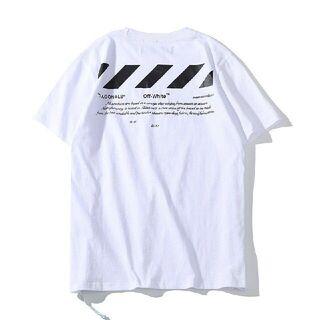 人気OFF-WHITE Tシャツ 男女兼用