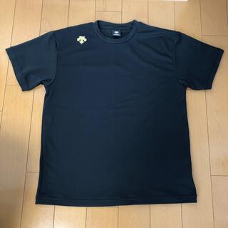 デサント(DESCENTE)のデサント※メンズTシャツ黒・Lサイズ(Tシャツ/カットソー(半袖/袖なし))
