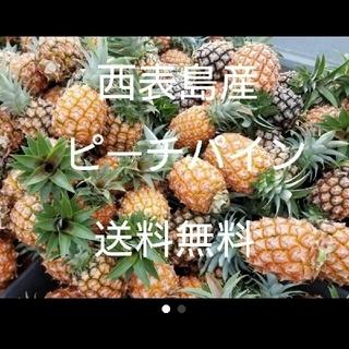 沖縄県西表島産ピーチパイン 小玉サイズ 約10㎏(18~25玉)(フルーツ)