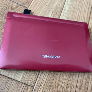 SHARP - 電子辞書(箱付き) SHARP