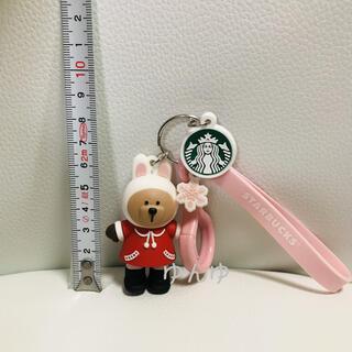 スターバックスコーヒー(Starbucks Coffee)のスタバ スターバックス キーホルダー ストラップ タンブラー 限定 桜 水筒 (キーホルダー)