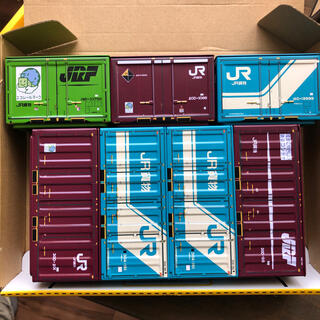 ジェイアール(JR)のJR 貨物コンテナ 貨物列車 缶 JR貨物(鉄道模型)