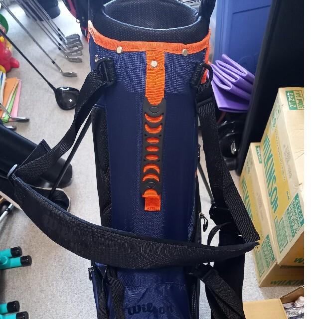 wilson(ウィルソン)のウイルソン スタンド キャディバッグ スポーツ/アウトドアのゴルフ(バッグ)の商品写真