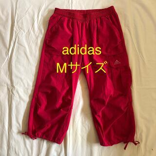 アディダス(adidas)のadidas ハーフパンツ ピンク Mサイズ フィットネスウエア(ヨガ)
