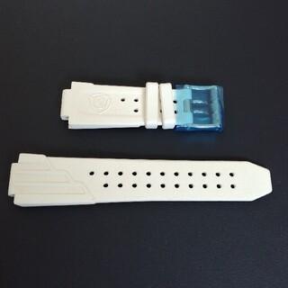 アクアノウティック(AQUANAUTIC)のアクアノウティック 白いラバーベルト 新品未使用品(ラバーベルト)