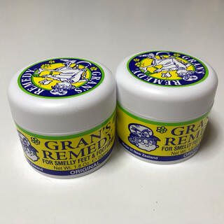 グランズレメディ(Gran's Remedy)のグランズレメディ レギュラー 50g 無香料 2個セット 新品 送料込み(フットケア)