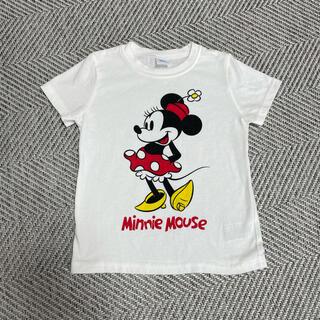 Disney - 子供服 Tシャツ 女の子用 ミニー 半袖
