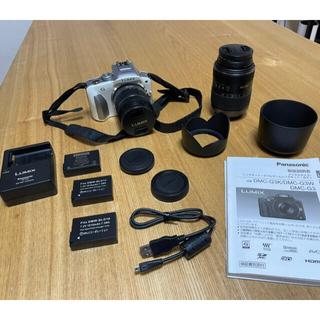 パナソニック(Panasonic)のパナソニック ミラーレス一眼カメラ DMC-G3W (ホワイト)(ミラーレス一眼)