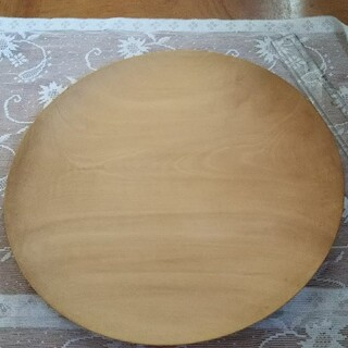 手作り 木製皿 蜜ろう仕上げ(食器)