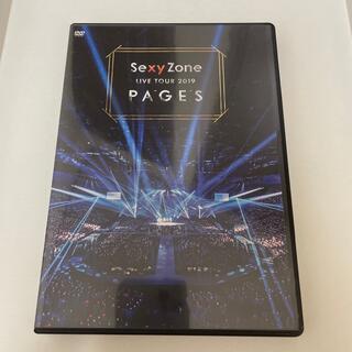 セクシー ゾーン(Sexy Zone)のSexy Zone LIVE TOUR 2019 PAGES(DVD) DVD(ミュージック)