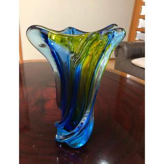 ガラス 花瓶 フラワーべース