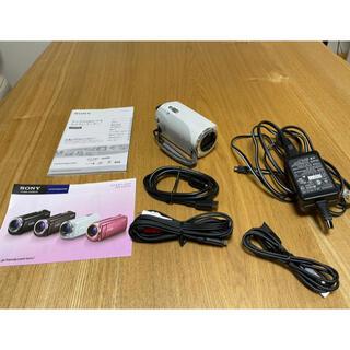 ソニー(SONY)のソニー デジタルHDビデオカメラレコーダー HDR-CX270(ホワイト)(ビデオカメラ)
