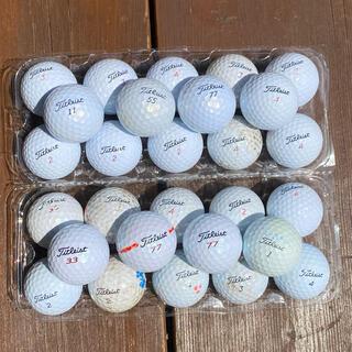 タイトリスト(Titleist)のタイトリスト Titleist ゴルフボール GOLF ロストボール 28個(その他)