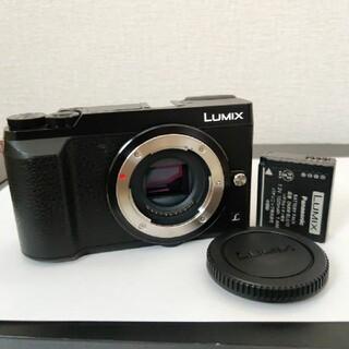 パナソニック(Panasonic)のPanasonic Lumix DMC-GX7MK2 ブラック(ミラーレス一眼)