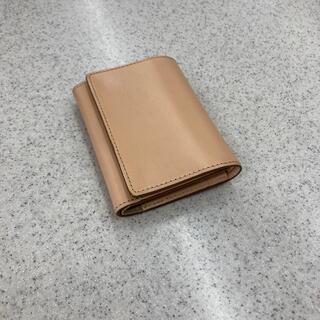 ムジルシリョウヒン(MUJI (無印良品))の無印良品 ヌメ革 三つ折り財布(財布)