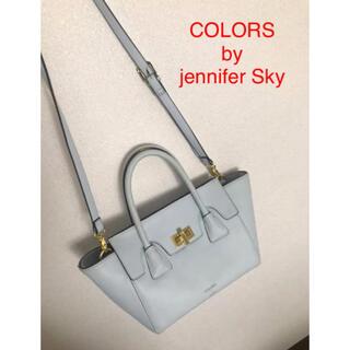カラーズバイジェニファースカイ(COLORS by Jennifer Sky)のCOLORS by jennifer Sky ショルダーバッグ ブルー(ショルダーバッグ)
