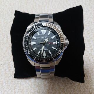 セイコー(SEIKO)のセイコープロスペックス サムライダイバー ブラック(腕時計(アナログ))