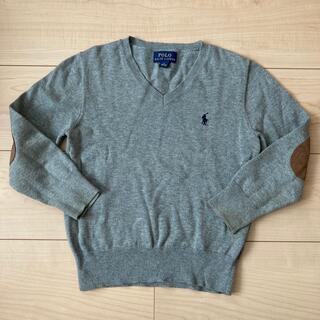ラルフローレン(Ralph Lauren)のラルフローレン 長袖セーター 115 グレー(ニット)