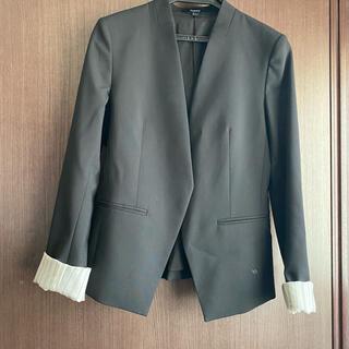 セオリー(theory)のTheory スーツ ジャケット ノーカラー(ノーカラージャケット)
