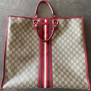 Gucci - GUCCI グッチ 大バック 大容量 14万円 使用品の為特価 正規店購入