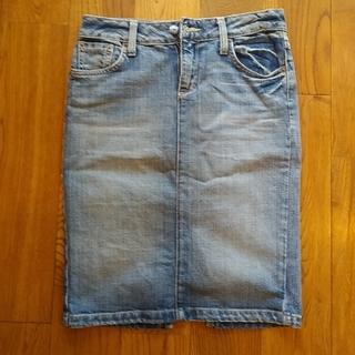 ラルフローレン(Ralph Lauren)のでこぽん様専用 Ralph Lauren デニムスカート 中古 アメリカ製(ひざ丈スカート)