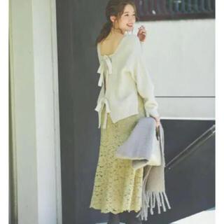 ノエラ(Noela)のノエラ♡ ソフトマーメイドレーススカート(ロングスカート)