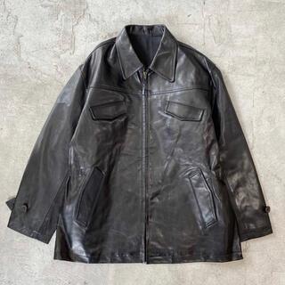 Yohji Yamamoto - 95aw Y's for men ヨウジヤマモト アーカイブ レザー ジャケット