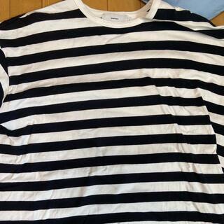 ワンエルディーケーセレクト(1LDK SELECT)のgraphpaperボーダーt(Tシャツ/カットソー(半袖/袖なし))