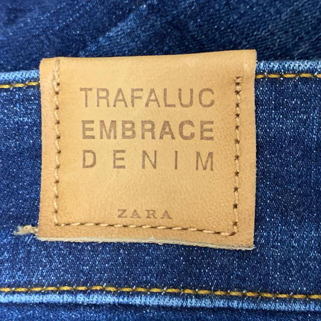 ZARA(ザラ)のZARA trafaluc denim 34 レディースのパンツ(デニム/ジーンズ)の商品写真