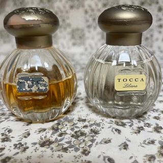 トッカ(TOCCA)のtocca 香水 使用済み キャップなどにハゲあり(香水(女性用))