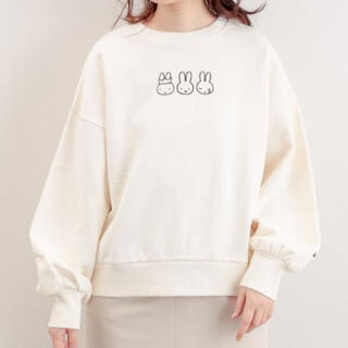 natural couture - natural couture MIFFYコラボスウェット アイボリー