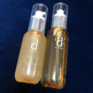 d program - dプログラム  アクネケア 化粧水 乳液 セット